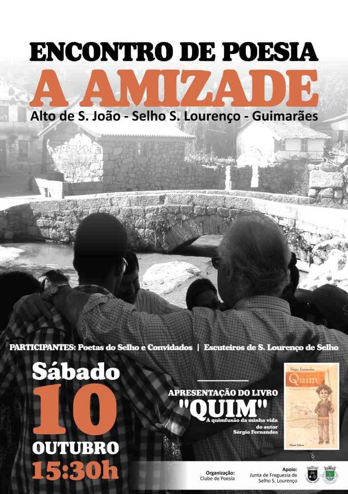 2015-10-10 Poema Amizade - Encontro do Clube de Poesia em São Lourenço